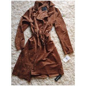 Slim, Camel Trench Coat